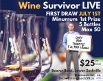 Wine Survivor Live Ad for RHRNS 2018